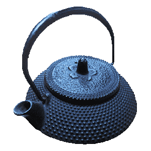 The photo of cast-iron-teapots-iwachu-brand-tetsubin
