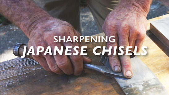 sharpening japanese chisels
